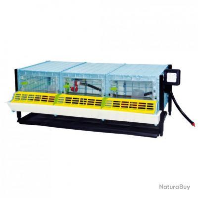 Cage poussin étage supplémentaire, hauteur intérieure 25cm