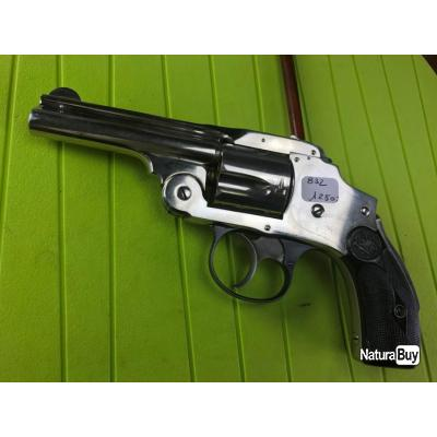 Revolver Smith & Wesson Safety Hammerless cal 38S&W 3ième modèle (1036) –  OBJET VENDU / VENTE TERMINÉE