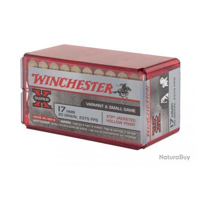 - 17 HMR - cartouche Winchester- SUPER X- 20 gr