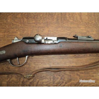superbe fusil chassepot transformé en gras, calibre d'origine, manufacture impériale de st etienne