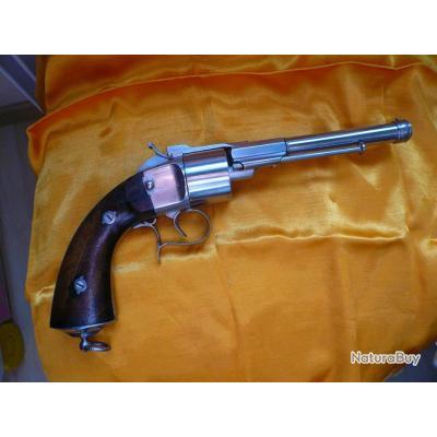 rarissime revolver THOMAS breveté calibre 11mm en état proche du neuf
