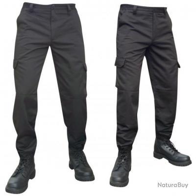 Pantalon treillis type US BDU ripstop-noir -36