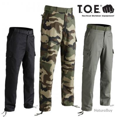 Pantalon Treillis F4 vert kaki