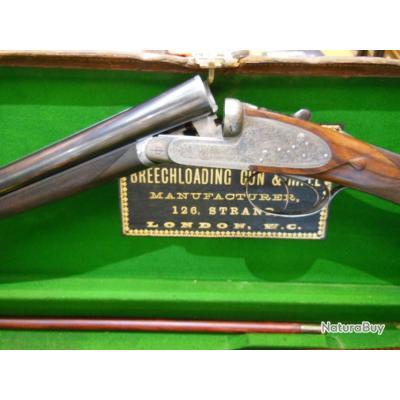 Fusil Juxtaposé Bouchereau à Platines