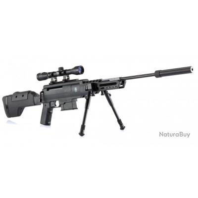 Carabine A Air Comprimé Black Ops Sniper 19,90 Joules Calibre 4.5 MM