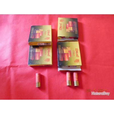 4 boites de 10 Cartouches calibre 12/67,5 Rottweil Tiger, lot N°13
