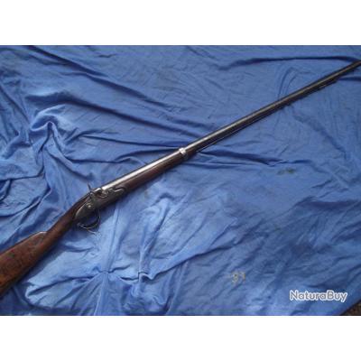 fusil à percussion transformé chasse