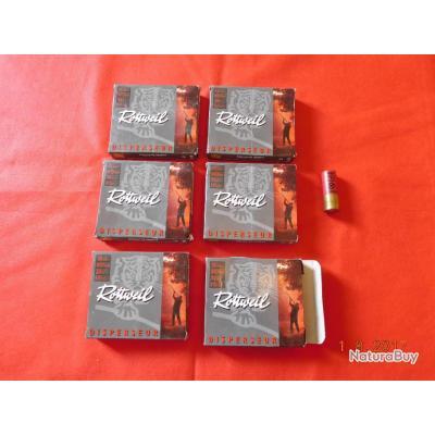 6 boites de 10 Cartouches calibre 12/67,5 Rottweil, lot N° 52