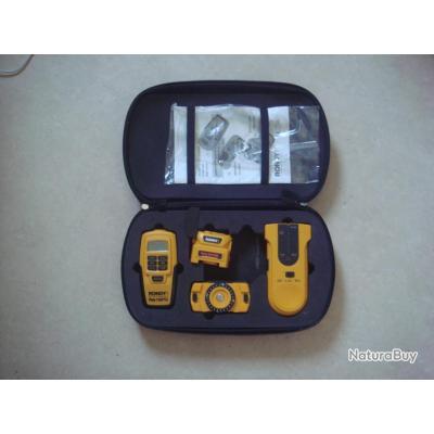 Kits 3 instruments Télemetre a ultrason à visée laser Détecteur niveau laser marque Rondy