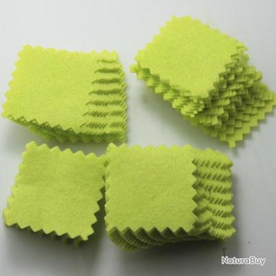 100 Patch de nettoyage .35-.45 cal~8-9 mm