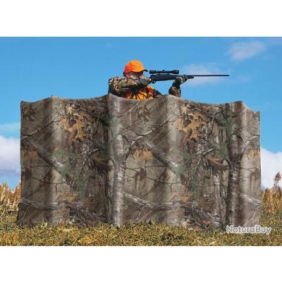 Haute qualité Filet de camouflage ALLEN Tissu Realtree AP. Pour mirador, hutte, palombière...