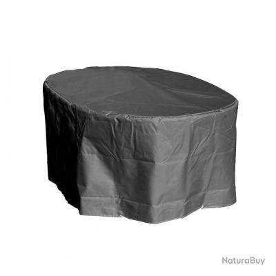 Housse Table De Jardin Ovale Hauteur 70 Cm Largeur 110 Cm Longueur 180 Cm