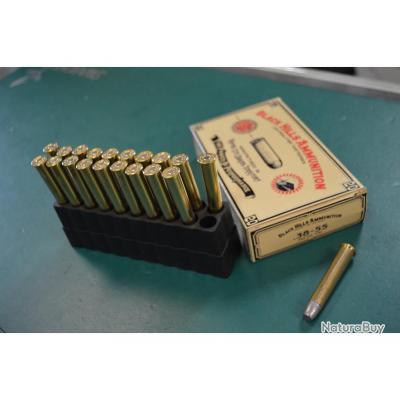 20 cartouches Black Hills calibre 38-55 en 255 gr FNL