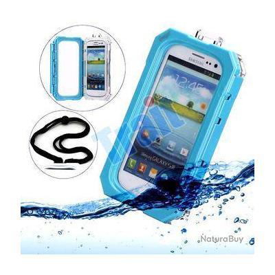 IPEGA Coque Etanche Waterproof iPhone 5/5S/5SE, Couleur: Bleu
