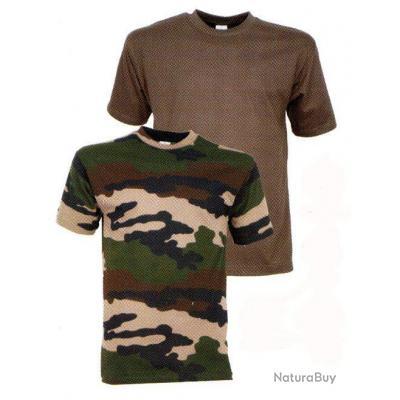 853473a77cad1 Tee-shirt enfant 8 ans Kaki - Tee-shirts de Chasse (4139961)
