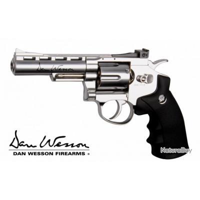 Dan Wesson 4 Pouces Chrome ASG Co2