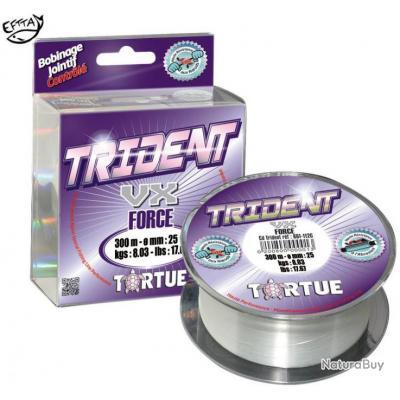 NYLON TORTUE TRIDENT VX FORCE 25/100 300 7.1