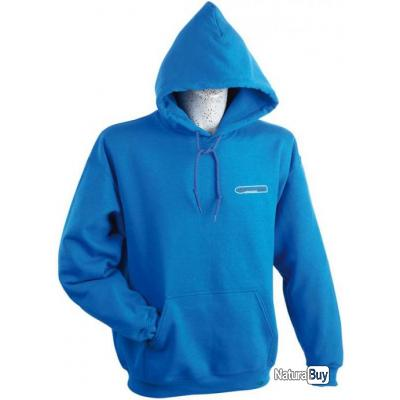 SWEAT HOMME GARBOLINO ROYAL BLEU Bleu M