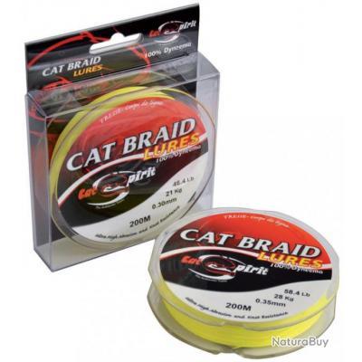 TRESSE CAT SPIRIT BRAID LURES - 200M 200 40/100 38