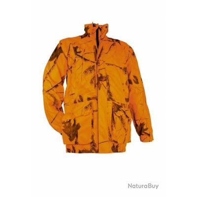 Veste chasse battue impermeable coupe vent BLASER blaze orange TAILLE XXXXL ! destockage de fou !!!