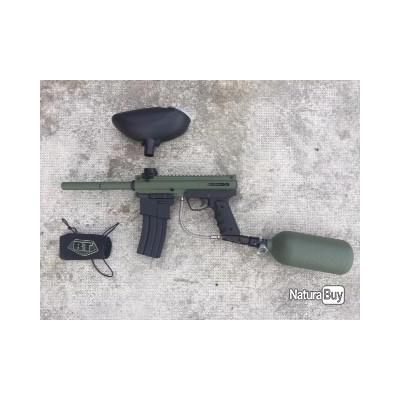 KIT PAINTBALL BT4 COMBAT KAKI