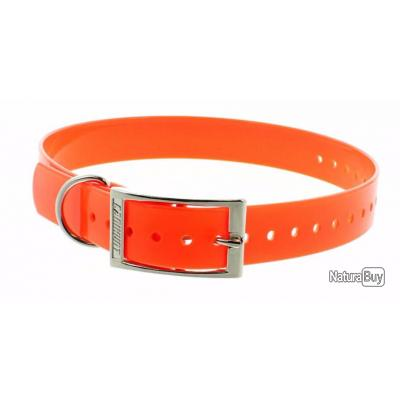 Collier fluo 2.5 cm_orange