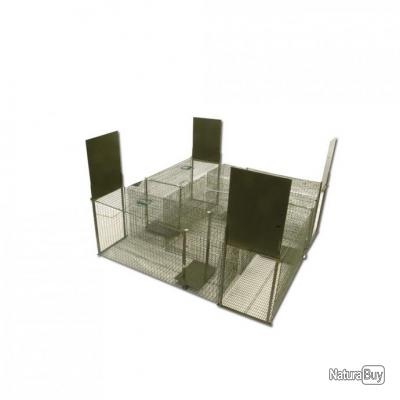 boite fauve 4 entr es pi ges cages et beletti res. Black Bedroom Furniture Sets. Home Design Ideas
