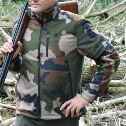 d05116e8f1379 BLOUSON VERNEY-CARRON PROHUNT SOFTSHELL SNAKE - GHOST CAMO SNAKE ...