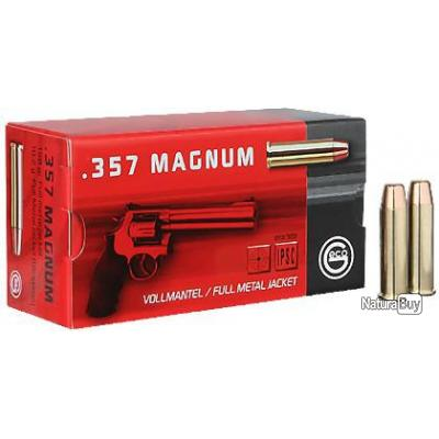 B - 50 CARTOUCHES 357 MAGNUM FMJ 158GRS