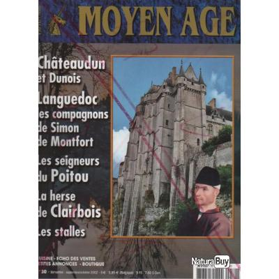 Revue heimdal , moyen-age n°30 ,héraldique , cuisine médiévale , botanique , numismatique