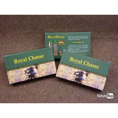 100 Munitions Royal Chasse Calibre 7mm REM Mag Nosler BT 150gr