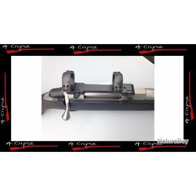 Montage mono-bloc amovible, colliers Ø 30mm high pour carabines TIKKA T3 & T3X