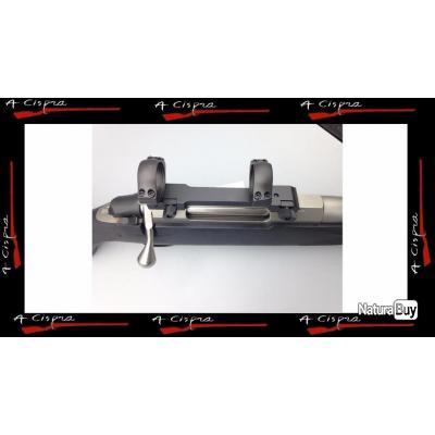 Montage mono-bloc amovible, colliers Ø 25,4mm high pour carabines TIKKA T3 & T3X