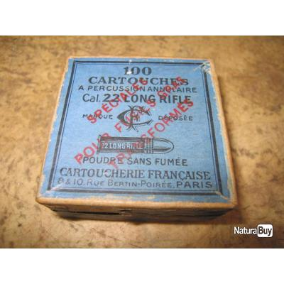 boite de cartouches pour gras 22lr