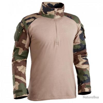 Chemise de combat militaire UBAS camouflage CE