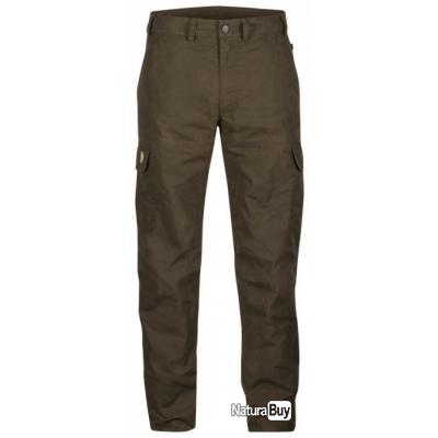 BRENNER  TROUSERS FJALL RAVEN  BROWN 90480  TAILLE 48 FRANCE