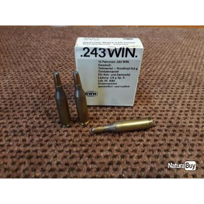 Munitions .243 WIN DWM