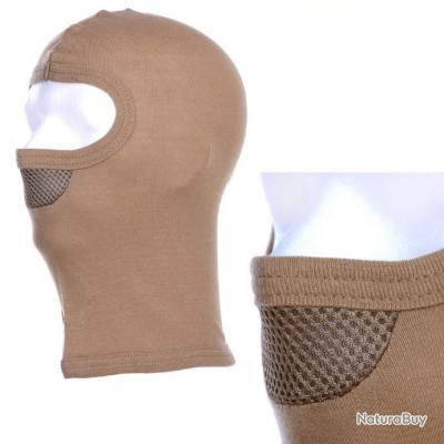 cute top fashion huge sale Cagoule 1 trou avec masque - couleur sable - 214288