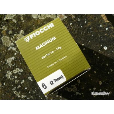 Boite 25 Fiocchi Mag 12mm/36 en 6