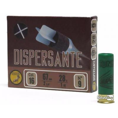 munitions Tunet Traditionnelles CHASSE Dispersante Cal. 16 28gr N°6