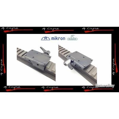 Montage amovible RUSAN pour Burris Fastfire tous modèles   sur rail & embases picatinny
