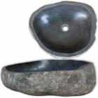 Lavabo en pierre de rivière 40 cm