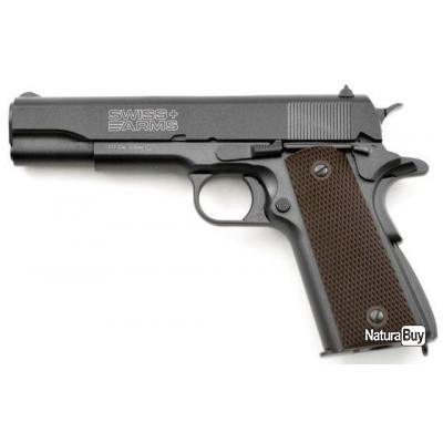 P1911 Swiss Arms 4.5mm full Métal