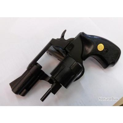 Revolver de défense SAFEGOM COMPACT Cal 38 6 Coups