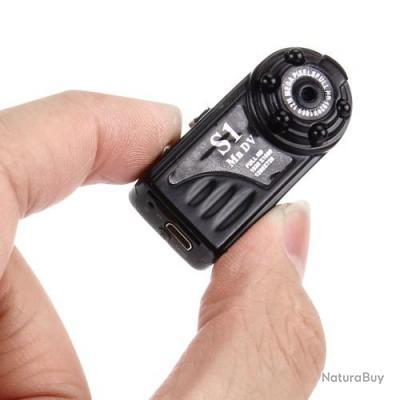mini camera dv o cam ra espion full hd 1080p 12mp avec d tecteur mouvement vision nocturne. Black Bedroom Furniture Sets. Home Design Ideas
