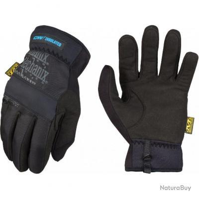 Gants de palpation pour temps froid Fastfit Insulated noir MECANIX WEAR taille XL (SEP)