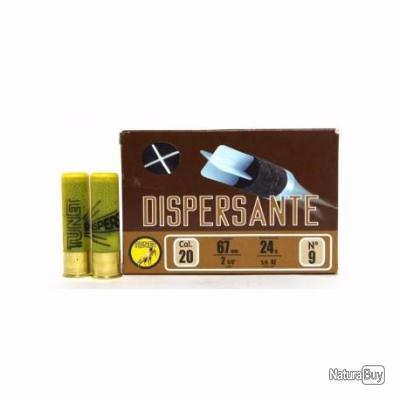 Munitions Tunet Traditionnelles CHASSE Dispersante Cal. 20 24gr