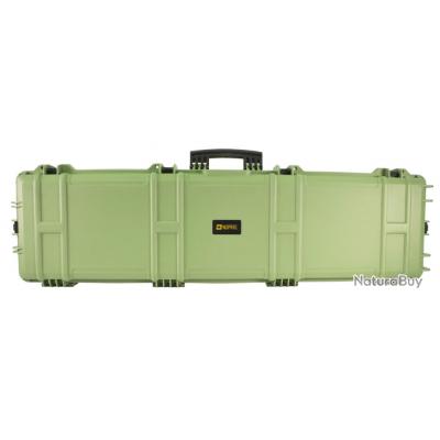 Mallette XL Waterproof OD Green 137 x 39 x 15 cm mousse pré-découpée - Nuprol (SEP)