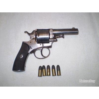 Revolver bull dog 380 + 5 cartouches