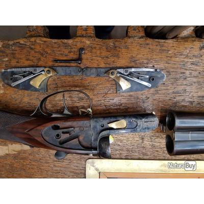 Fusil juxtaposé Auguste Francotte
